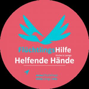 Flüchtlingshilfe Lemgo - Helfende Hände Logo